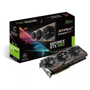 Asus STRIX-GTX1080-8G-GAMING - Carte Graphique GeForce GTX 1080 STRIX 8 Go