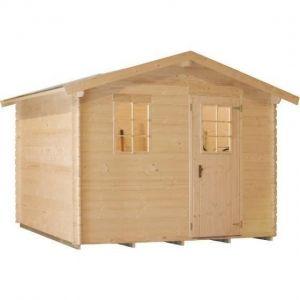 Luoman LV 271 - Abri de jardin en bois 6,55 m² 19 mm