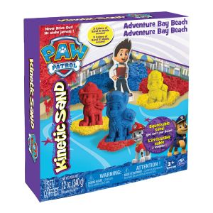 Spin Master Kinetic Sand : Coffret Pat' Patrouille