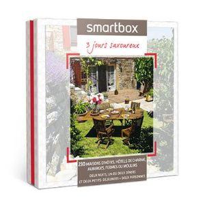 Smartbox 3 jours savoureux - Coffret cadeau séjour pour 2 personnes