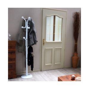 Sofoc Porte manteaux perroquet sur pieds design Standar 10 têtes pour entrée ou vestiaire en métal