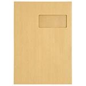 Majuscule 250 enveloppes 23 x 32 cm avec fenêtre 5 x 11 cm