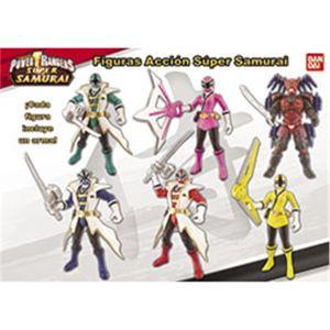 Bandai Samouraï Ranger Rose - Power Rangers 10 cm