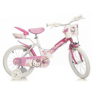 """Dino Bikes Vélo fille Hello Kitty 14"""""""