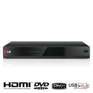 LG DP132H - Lecteur DVD compatible DivX avec port USB