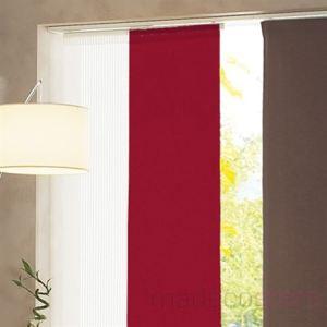 panneau japonais rouge comparer 7 offres. Black Bedroom Furniture Sets. Home Design Ideas
