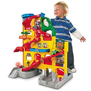 Fisher-Price Rampe Wheelies Stand 'n Play Little People