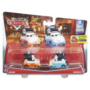 Mattel Pack 2 véhicules Okuni / Shigeko Disney Cars