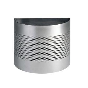 Durable 331723 - Corbeille à papier demi-cercle en métal (20 L)