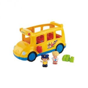Mattel Coffret bus et figurines Little People