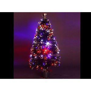 Barnaby - Sapin de Noël en fibre optique (120 cm)