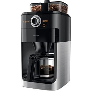 Philips HD7766/00 - Cafetière avec broyeur Grind & Brew