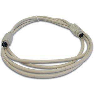 Hq CW029 - Câble clavier PS/2 mini-din6 M/M 2m