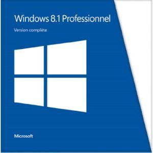 Windows 8.1 Professionnel pour Windows