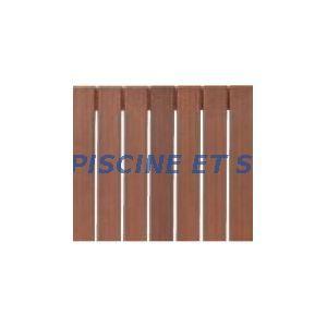 Procopi 32414600 - Caillebotis en bois exotique 830 x 1000 mm pour couverture de piscine Stardeck niveau haut