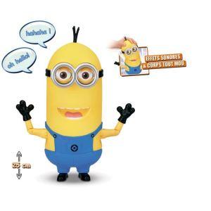 Mondo Figurine parlante Minion Tim - Moi, moche et méchant 2
