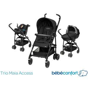 Bébé Confort Maia Access (2015) - Combiné Trio avec poussette, nacelle Compacte et siège auto Streety.fix