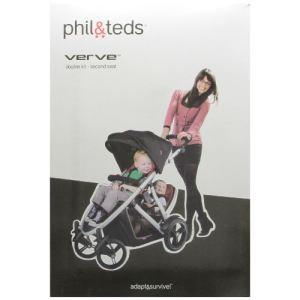 Phil and teds Second siège pour poussette Verve