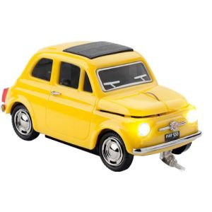 Click Car Fiat 500 Old Wired - Souris optique filaire USB