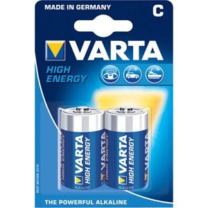 Varta High Energy LR 14 x 2