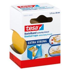 Tesa 56665-00001-00 - Rouleau adhésif petit bricolage double face (38 mm x 2,75 m)