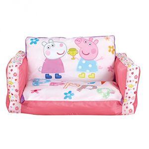 Worlds Apart Canapé lit gonflable Peppa Pig 105 cm