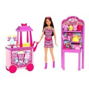 Mattel Barbie Skipper et son stand de pop-corn