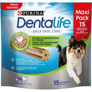 Purina Dentalife medium 15 bâtonnets 345 g pour chien de 12 à 25 kg