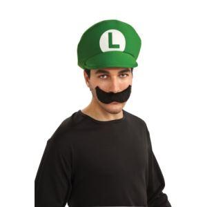 Rubie's Casquette et moustache Luigi