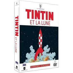 Coffret Tintin et la Lune - Objectif Lune + On a marché sur la Lune