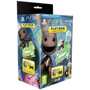 LittleBigPlanet 2 + Manette Dual Shock sur PS3
