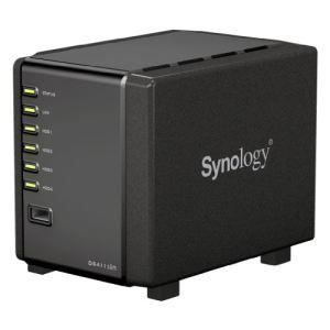 """Synology DS411slim - Serveur NAS DiskStation 4 baies 2.5"""" Ethernet"""
