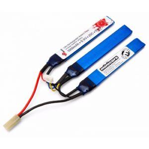 Vapex Batterie airsoft 9.9V 1000mAh 20C Li-Fe