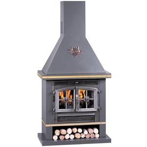 Deville C07367 - Poêle cheminée Chambord