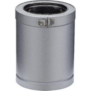 Poujoulat Tuyau pour conduit double paroi D150 mm 0.25 m Ep.30 mm