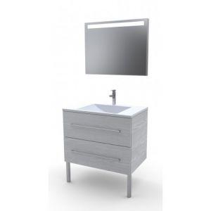 Meuble salle de bain 80 cm comparer 4530 offres for Meuble salle de bain largeur 80 cm