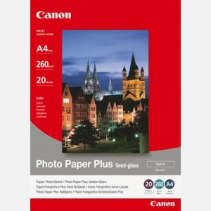 Canon 20 feuilles de papier photo Paper Plus 260g/m² (A4)