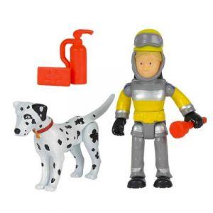 Smoby Figurines Sam le pompier Julie et Radar