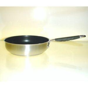 Baumalu Poêle Silicano en inox (24 cm)