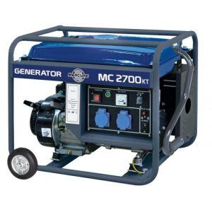 Mecafer MC2700KT - Groupe électrogène avec roues 2400W essence 2 prises 220 Volts NF (450028)