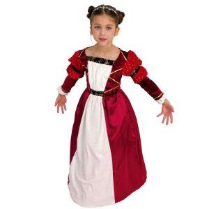 César Costume princesse médiévale cintré (3 à 10 ans)