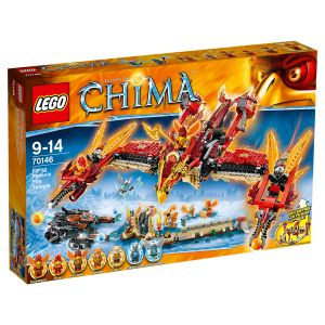 Lego 70146 - Legends of Chima : Le temple du Phoenix de Feu