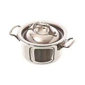 De buyer 3742.10 - Mini cocotte Affinity en inox (10 cm)