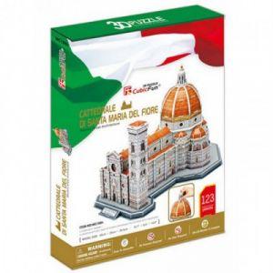 CubicFun Cathédrale Santa Maria del Fiore, Florence, Italie - Puzzle 3D 123 pièces