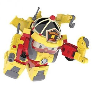 Ouaps Véhicule transformable Robocar Poli : Roy Action Pack Super Fireman