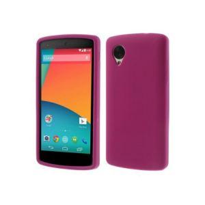 Phonewear PNX5-COQ-TV-018-D - Coque en silicone pour Lg Nexus 5