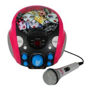 Boombox karaoké Monster High avec micro