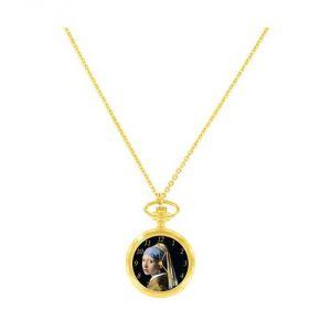 Montre pendentif pour femme La jeune fille à la perle Vermeer
