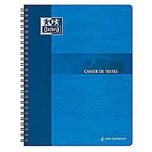 Oxford Essential - Cahier de texte spiralé 148P 17x22 Séyès