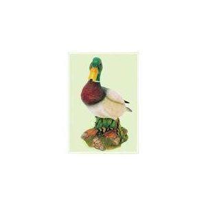 Canard col vert modèle haut de gamme en polystone
